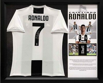 0a03f7ad3ab SIGNED CRISTIANO RONALDO Juventus Jersey Framed with COA -  600.00 ...