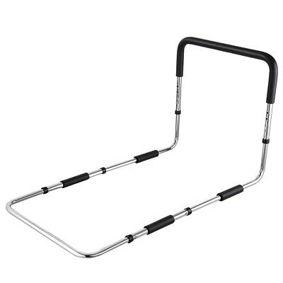 Non-slip Bed Assist Handle Medical Bed Frame Rail Grab Bar Height Adjustable
