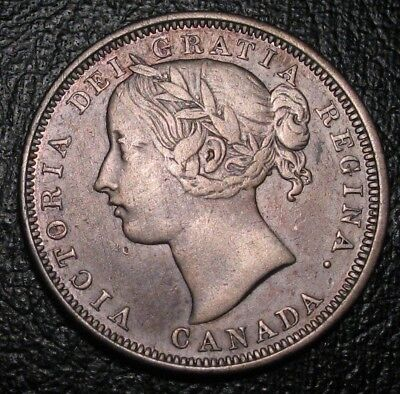 Old Canadian Coins 1858 Canada 20 Cents Highgrade Beauty