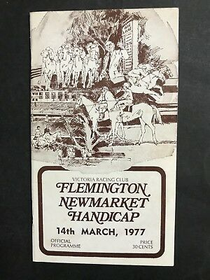 Racebook Vrc March 14Th 1977 Newmarket Meeting