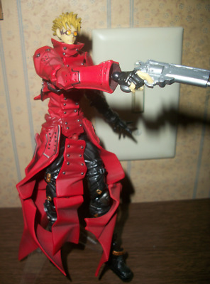 Trigun - Vash the Stampede - Revoltech Action Figure - Used