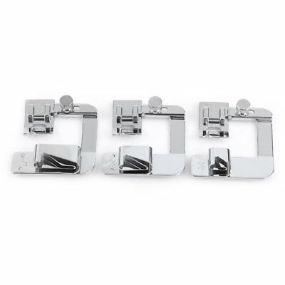 3Pcs/Set Stainless steel Presser Feet for Domestic Multifunction Sewing Machine