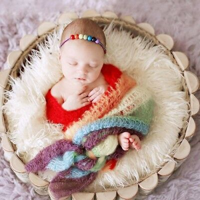 Newborn Baby Kids Child Photography Photo Shoot Props Outfits Blanket Wraps sfd