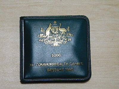 Australian $200 Gold Coin, 1982 XII Commonwealth Games Commemmoration