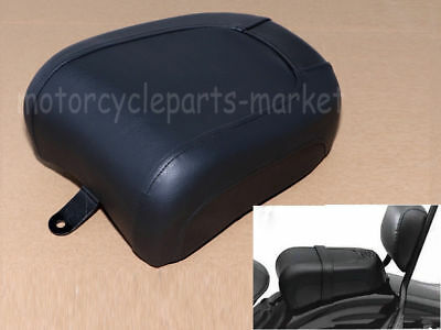Leather Rear Pillion Passenger Seat Pad For Harley FLSTSB Softail Cross Bones