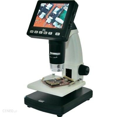 Microscopio Digitale elettr USB con monitor 5 MPixel Zoom digitale (max.): 500 x