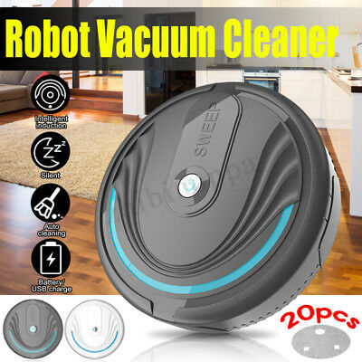 Automatic Rechargeable Strong Suction Sweeper Smart Clean Robot Vacuum Cleaner