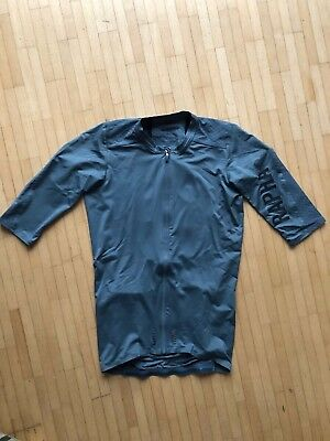 AUTHENTIC RAPHA PRO TEAM White Teal Cycling Jersey M Club Brevet ... 42952c066