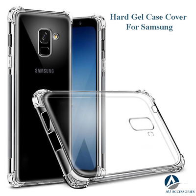 Samsung Galaxy S8 S9 Plus Note 8 9 Shockproof Clear Bumper Tough Hard Case Cover