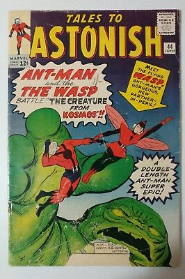 Tales to Astonish 44 Low Grade 1st app. of The Wasp