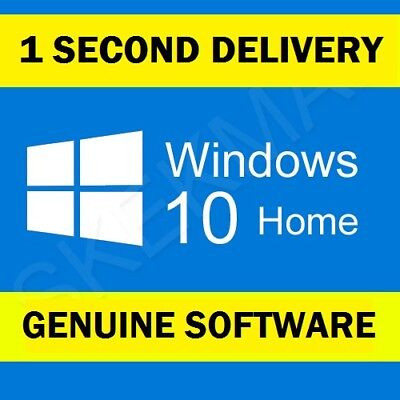 Windows 10 Home 32/64bit Genuine Key Product key