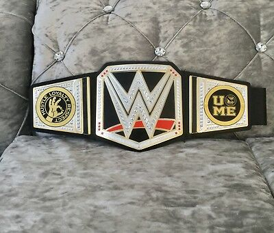 Toy Reversible Plates Wwe World Heavyweight Attitude Champion Wrestling Belt