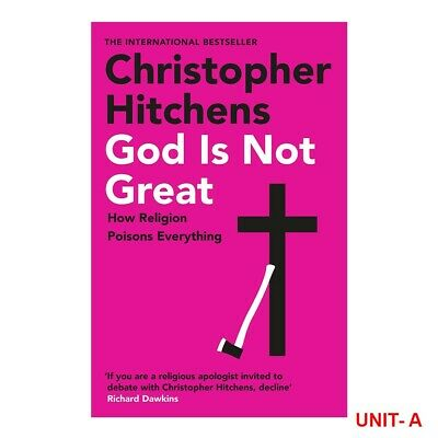 God Is Not Great How Religion Poisons Everything by Christopher Hitchens NEW
