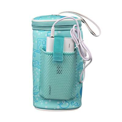 Baby Outdoor Bottle Thermostat Bag Car Portable USB Heating Warm Milk Tool Cover