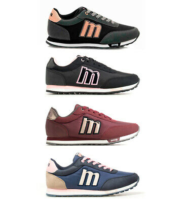 Mustang - Sneakers Funner Donna Tessuto Sintetico Basso Stringhe Casual Multi2