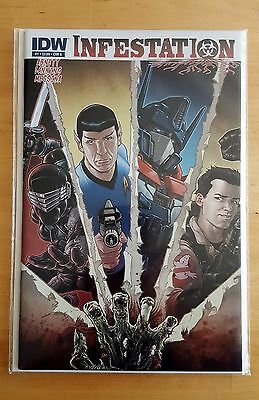 Infestation #1 (2011) - Cover A - First Print - Idw Comics * Nm * Rare