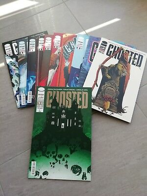 Ghosted numeri n.1-10 + n.1 variant limited edition (666 pezzi) serie completa!