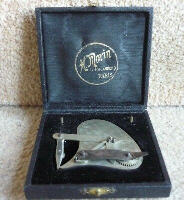Antique H. Morin 11 Rue Dulong Paris Instrument Scientific Measure Tool - Boxed