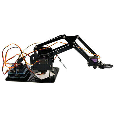 Bluetooth Control 4DOF Mechanical Robot Arm Clamp Claw Manipulator Kit
