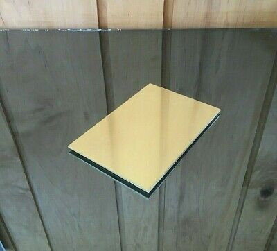 """1/8 BRASS SHEET PLATE NEW 4""""X6"""" .125 Thick *CUSTOM 1/8 SIZES AVAILABLE*"""