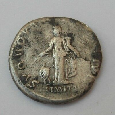 Collectable 113AD Silver Roman Denarius Of Trajan - Rare Reverse Alimital