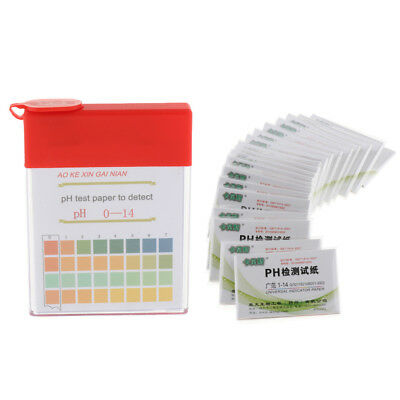 100 Pcs pH Test Strips Litmus Test Paper Acidic Alkaline Indicator Accuracy