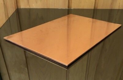 """1/8"""" COPPER SHEET PLATE NEW 8""""x12"""" .125 THICK *CUSTOM 1/8 SIZES AVAILABLE*"""
