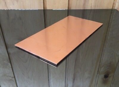 """1/8"""" COPPER SHEET PLATE NEW 6""""x12"""" .125 THICK *CUSTOM 1/8 SIZES AVAILABLE*"""