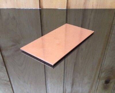 """1/8 COPPER SHEET PLATE NEW 4""""X8"""" .125 Thick *CUSTOM 1/8 SIZES AVAILABLE*"""