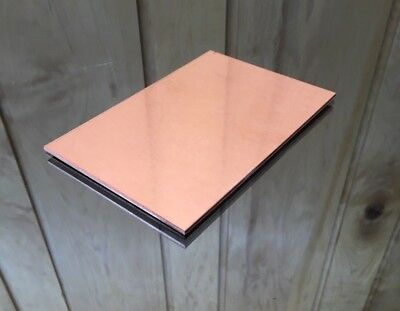 """1/8 COPPER SHEET PLATE NEW 4""""X6"""" .125 Thick *CUSTOM 1/8 SIZES AVAILABLE*"""