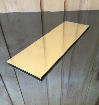 "1/8 BRASS SHEET PLATE NEW 4""X12"" .125 Thick *CUSTOM 1/8 SIZES AVAILABLE*"