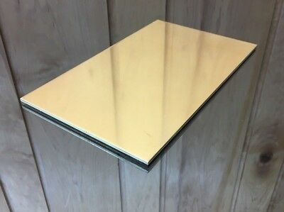 """1/8 BRASS SHEET PLATE NEW 6""""X10"""" .125 Thick *CUSTOM 1/8 SIZES AVAILABLE*"""