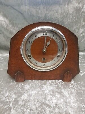 Antique mantel clock with Westminster chime (unsure of age but poss 1920 -1930)