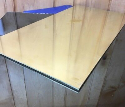 """1/8 BRASS SHEET PLATE NEW 12""""X24"""" .125 Thick *CUSTOM 1/8 SIZES AVAILABLE*"""