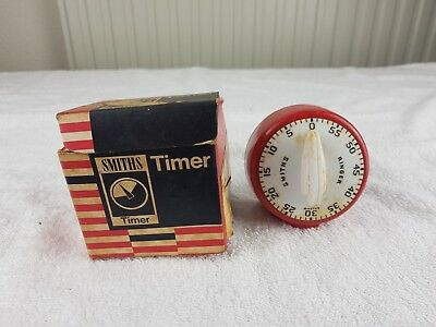 Vintage Smiths Timer - Boxed model qlr 400/1 used for subbuteo