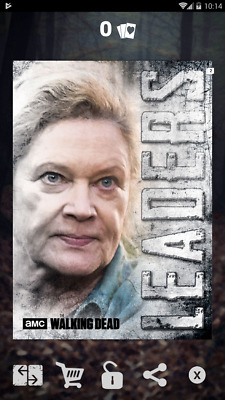 Topps The Walking Dead Card Trader Hunters and Hunted: Leaders Natania (digital)