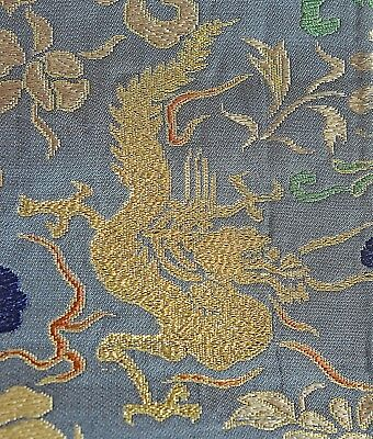 Dragon Vintage Chinese Silk Length Uu153A