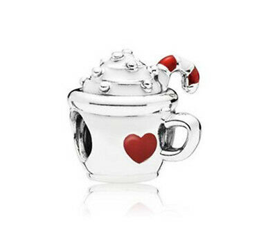 Fashion 925 Silver Crystal cup Charm European Beads Fit Necklace Bracelet DIY !!