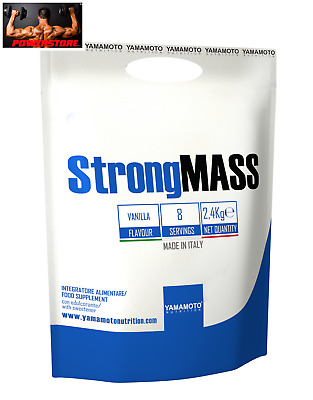 Yamamoto Nutrition Strong Mass 2.4 kg. Gainer  Massa Muscolare - all in one