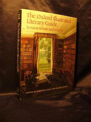 1981 Oxford Illustrated Literary Guide Great Britain Ireland Books Publishing
