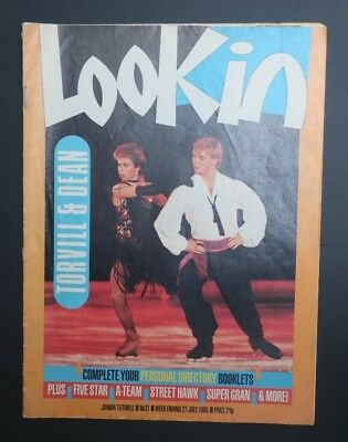 Look In Magazine 1985 July No.31 Torville & Dean..Five Star