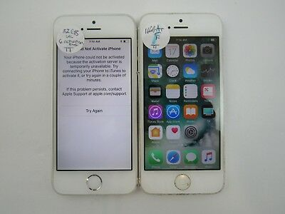Lot of 2 Repair Apple iPhone 5 16/32GB A1428 ATT Check IMEI 5PR 1450
