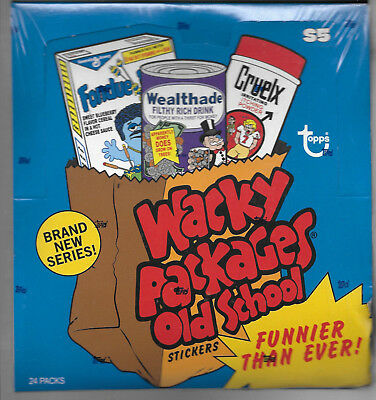 Wackys Old School Series 5 Factory Sealed Box