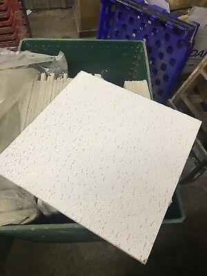 Suspended Ceiling Tiles Used 595mm X 595mm X 25 Tiles