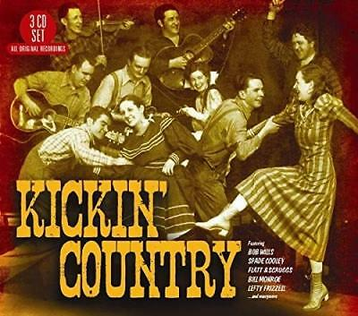Various - Kickin' Country (2018)  3CD  NEW/SEALED  SPEEDYPOST