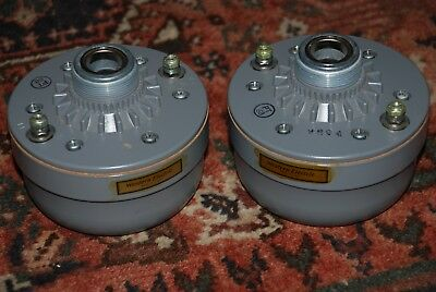 Army/Western Electric type Alnico HF Drivers for Speaker Horn Tube Amp,  555