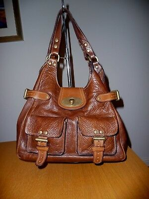 bf788c44fa MULBERRY ANNIE DARWIN Leather Shoulder Bag Medium - £88.00