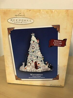 Hallmark Keepsake Frosty Friends Winterfest 2004 Special Anniversary Edition