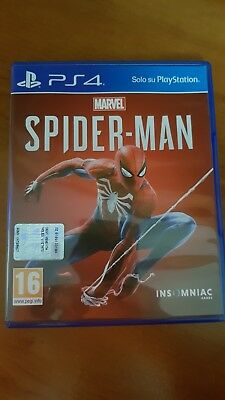PS4 PLAYSTATION Spiderman