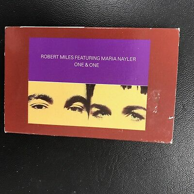 Original Cassette Single - Robert Miles Feat Maria Taylor - One & One